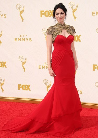 laura prepon emmy fashion winners losers 2015