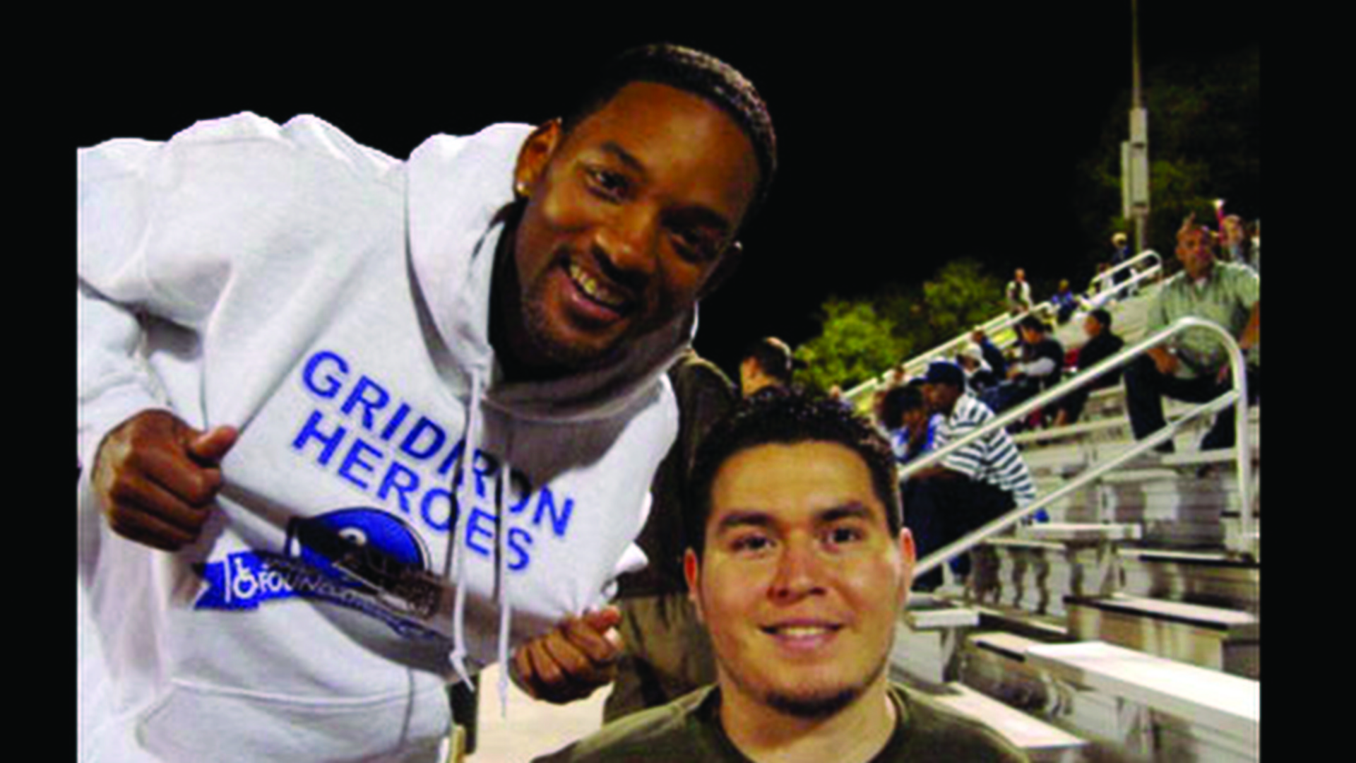 Will Smith Chris C Es Gridiron Heroes Lima Football