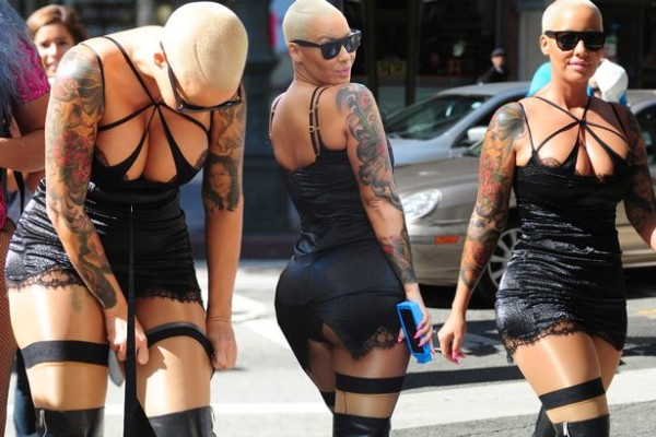 amber rose slut walk 2015 gossip