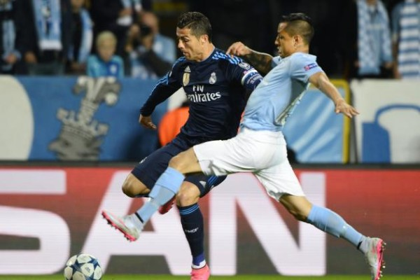 champions league day 4 cristiano ronaldo real madrid vs malmo 2015