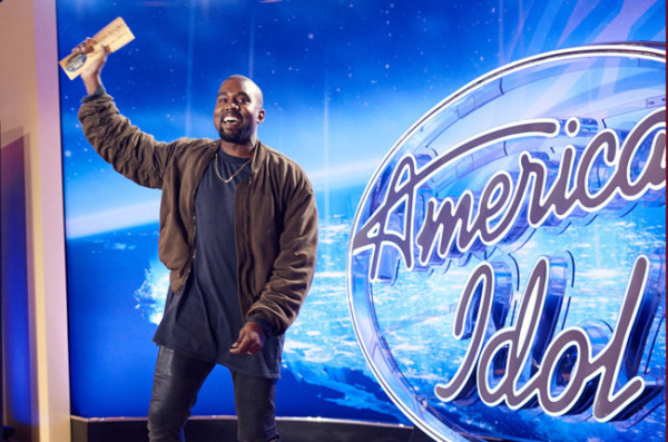 kanye west gives american idol a boost audition 2015 gossip