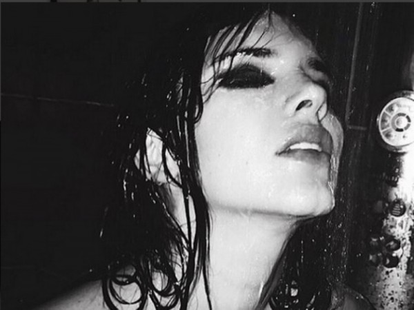 kendall jenner in shower 2015 gossip