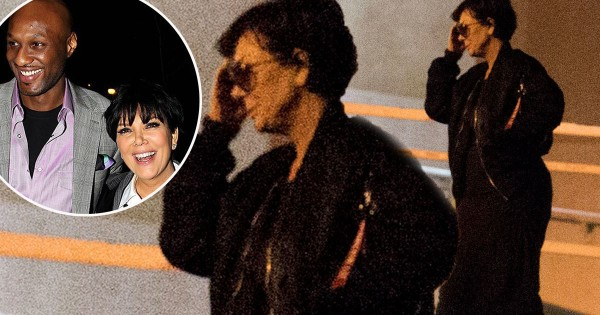 kris jenner with lamar odom at hospital 2015 gossip