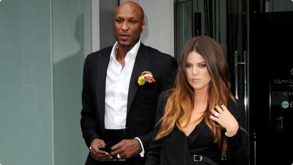 lamar odom khloe kardashians on social media
