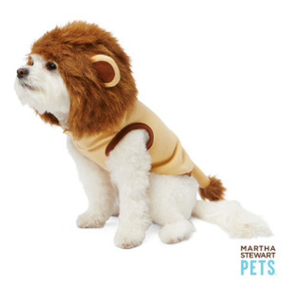 lion pup pet costume