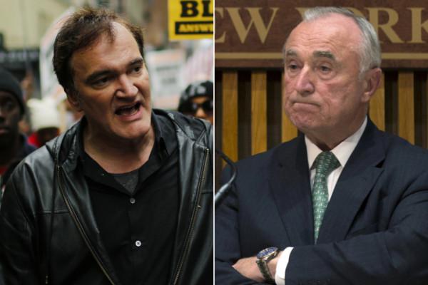 nypd boycotts quentin tarantino 2015 gossip