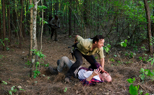 the walking dead rick kills carter 601 images