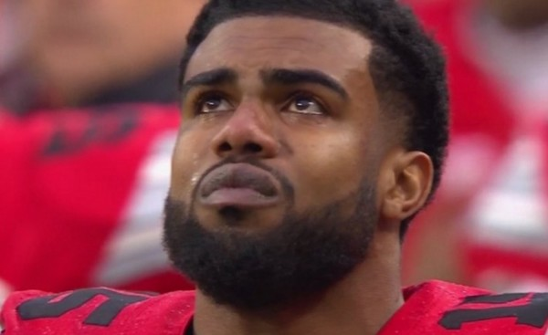 Ezekiel Elliott Goes on Lengthy Post Game Rant 2015 images