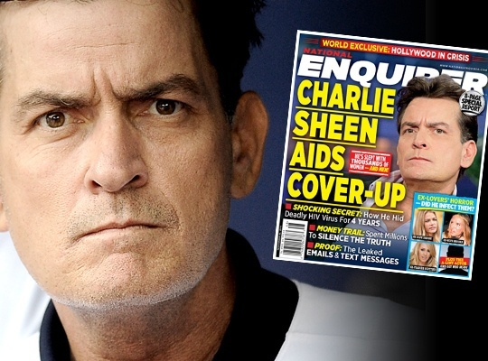 charlie sheen comes out 2015 gossip