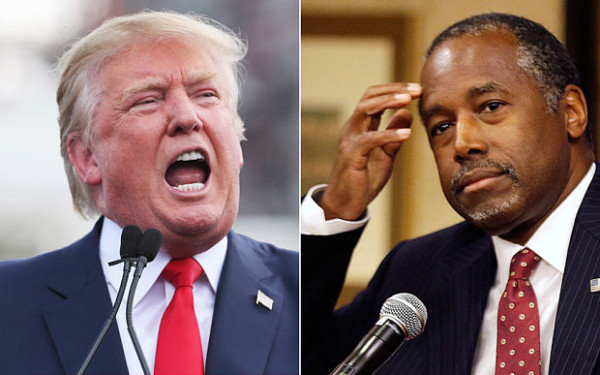 donald trump feels blowback from ben carson comments 2015 gossip