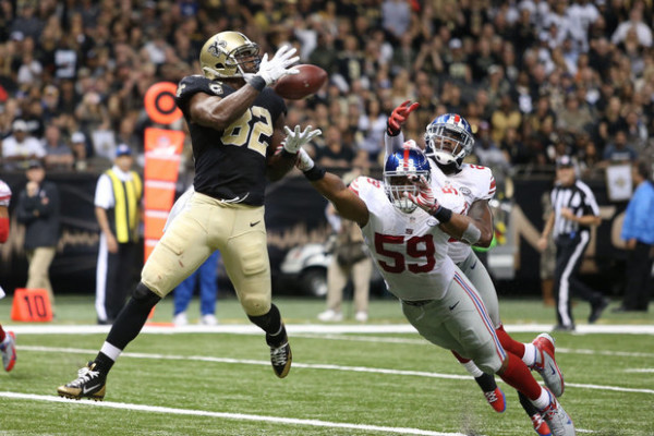 fantasy football tight end sleepers week 9 benjamin watson 2015 nfl