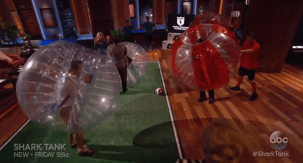 shark tank 709 bubble soccer 2015 images