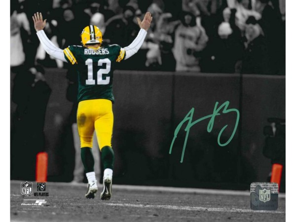 aaron rodgers autograph 2015
