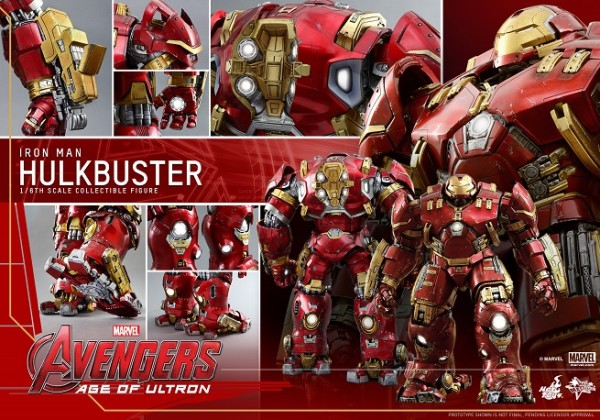 hot toys hulkbuster 2015 top tech geeks holiday gifts