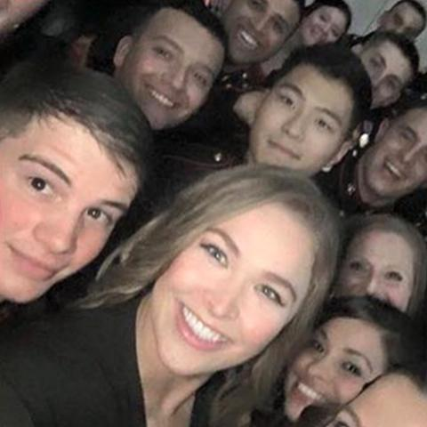 ronda rousey at marine corp ball 2015 gossip
