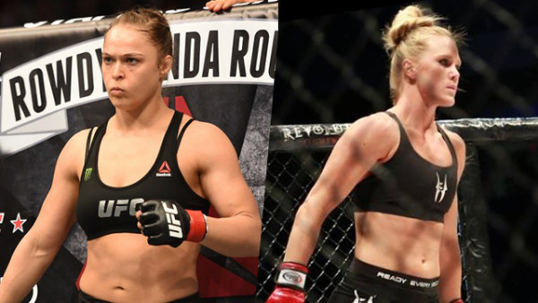 ronda rousey ready for holly holm again 2015 gossip
