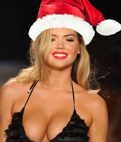 sexy female santas kate upton 2015