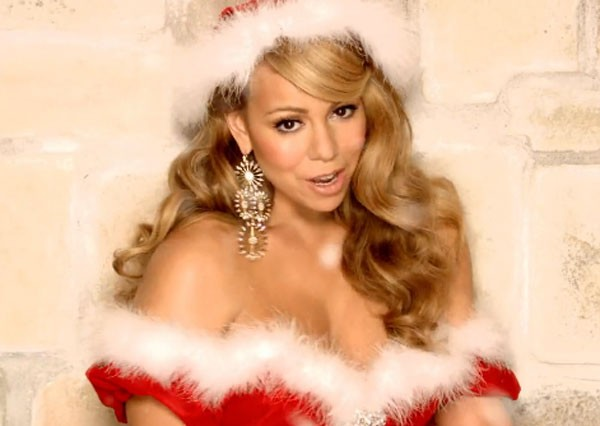 sexy female santas mariah carey