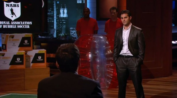 shark tank passed on bubble soccer 2015 images