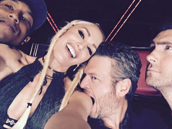 the voice 924 madi jordan steal show while blake chows down on gwen 2015 images