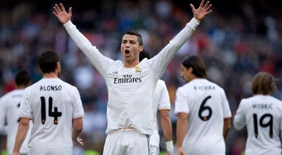 Cristiano Ronaldo top soccer player of 2014 season images bulge