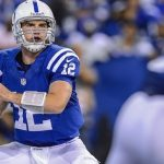 andrew luck colts quarterback bulge 2014 images