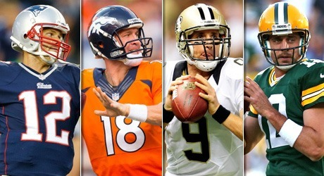 top quarterbacks for nfl 2014 season