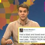brooks wheelan fired from saturday night live images 2014