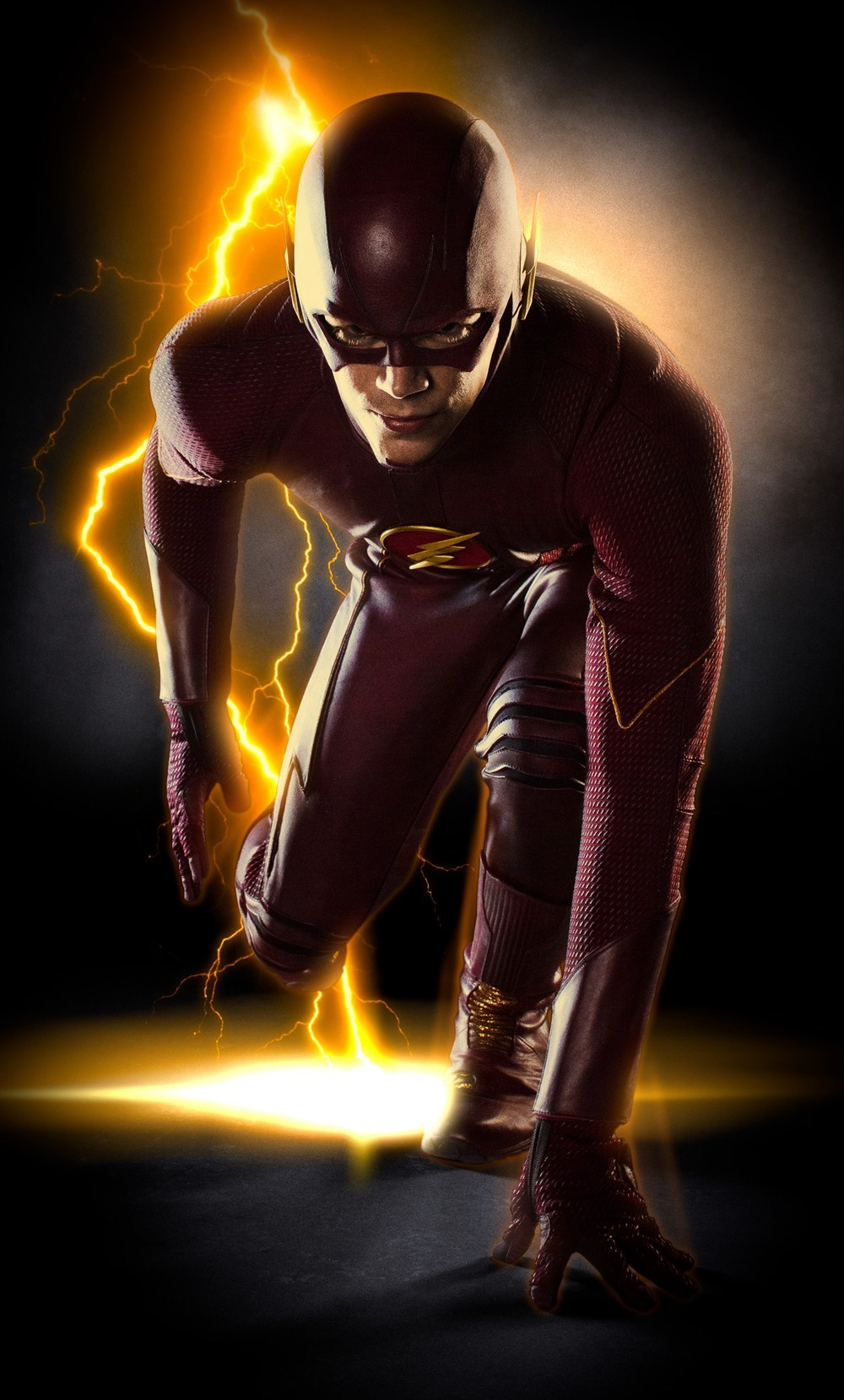 grant gustin flash bulge cw images 2014