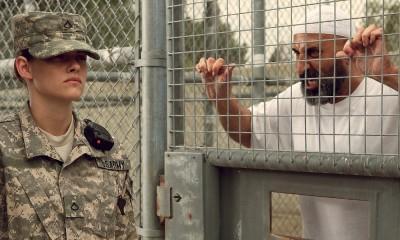 kristen stewart with terrorist in camp xray movie images 2014