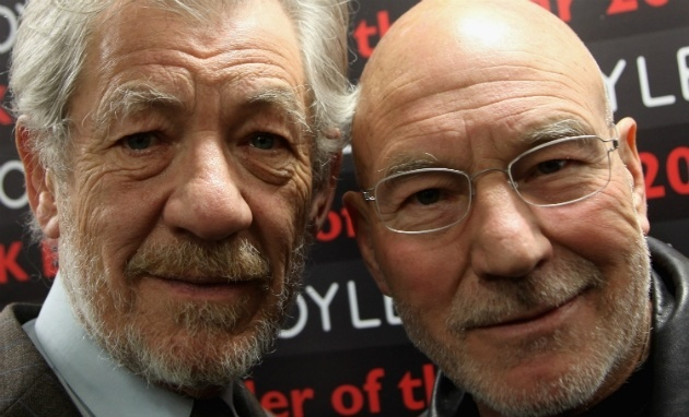 patrick stewart ian mckellen help man propost marriage to boyfriend 2014