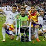real madrid top bulge european soccer leagues winners 2014 images