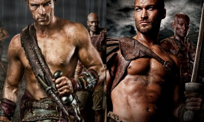 spartacus andy whifield with liam mcintyre box set images 2014