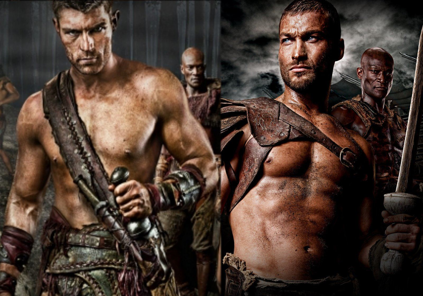 spartacus special edition blu ray set