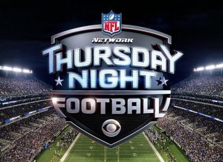 thursday night nfl football on cbs logo images