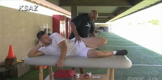 tim tebow bulge rub nfl workout images