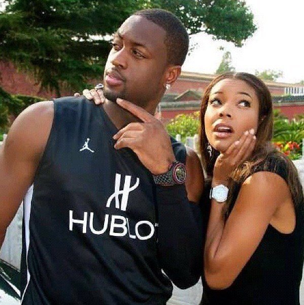 gabrielle union marries dwayne wade from miami heat bulge fame