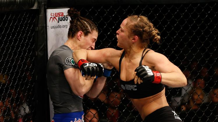ronda rousey beats sara mcmann best ufc fights ever 2014 images
