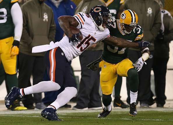 brandon marshall versus sam shields images 2014