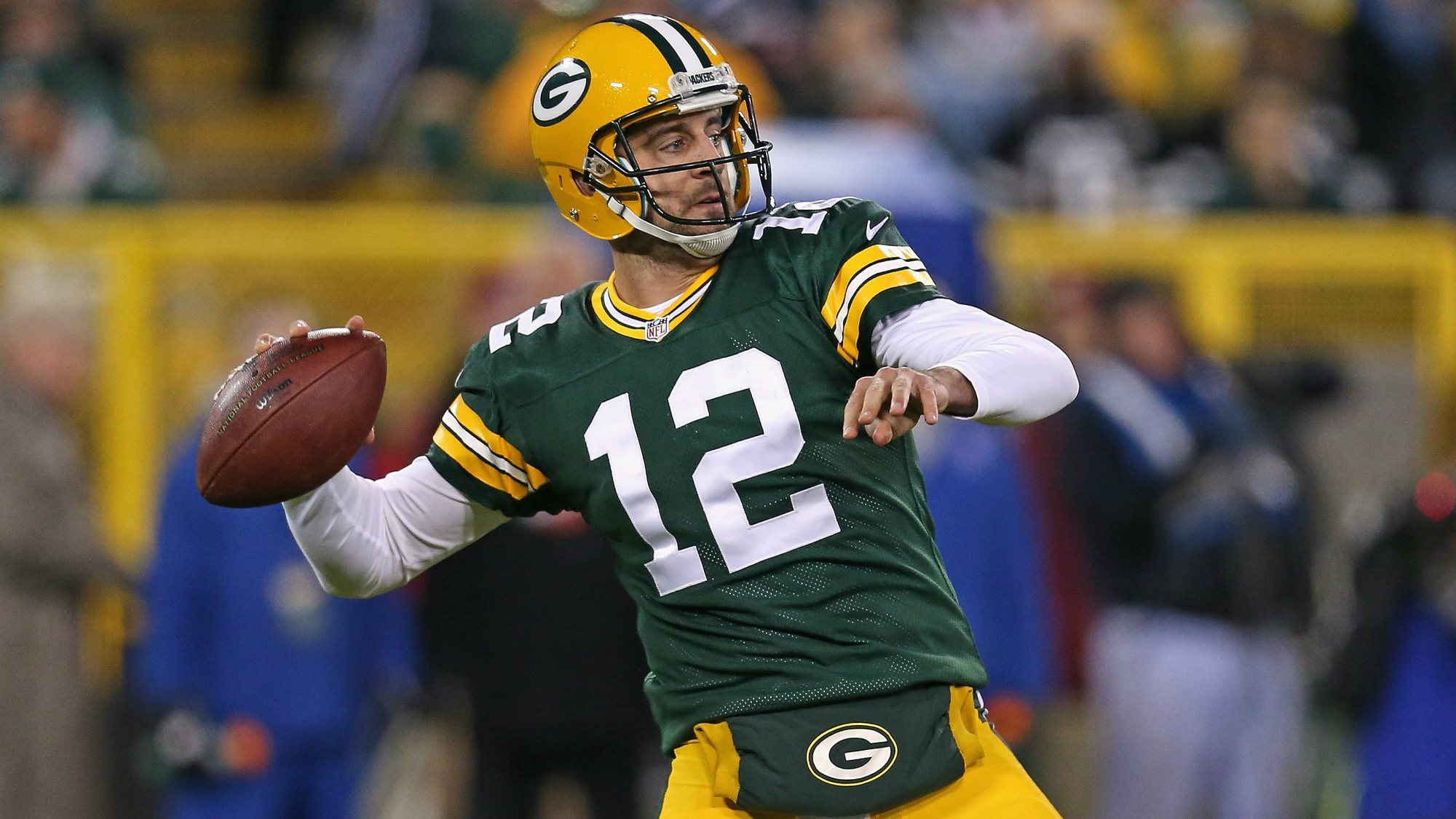 green bay packers aaron rodgers bulged out chip kelly nfl images 2014