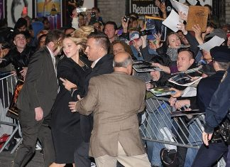 jennifer lawrence scared of large crowds