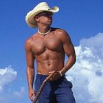 kenny chesney shirtless against country music