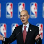 nba commissioner adam silver push to legalize sports gamblinb