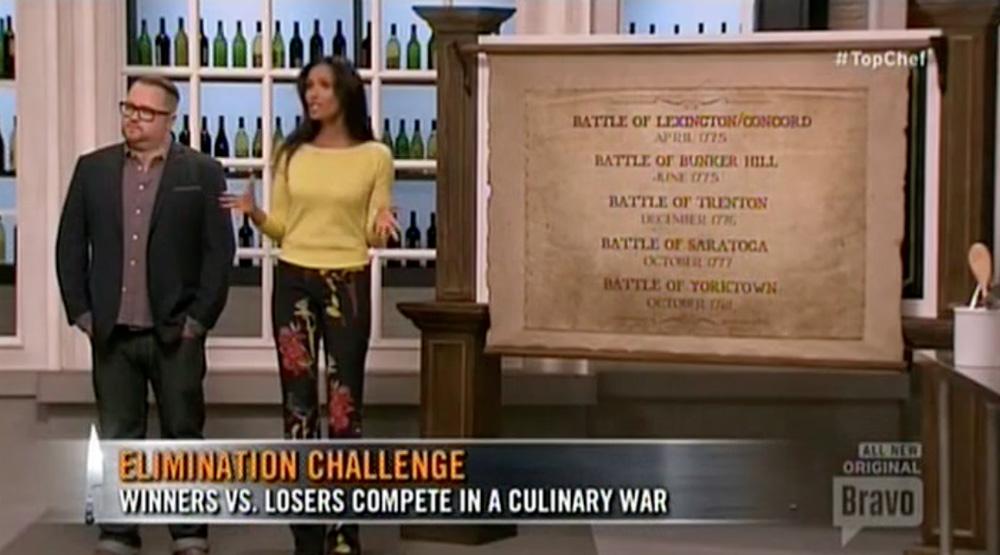 padma top chef boston war elimination challenge 2014