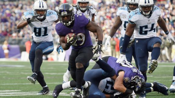 tennessee titans versus baltimore ravens images 2014
