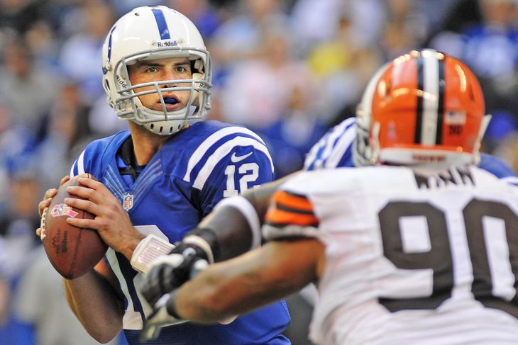 colts beat cleveland browns nfl 2014 imges