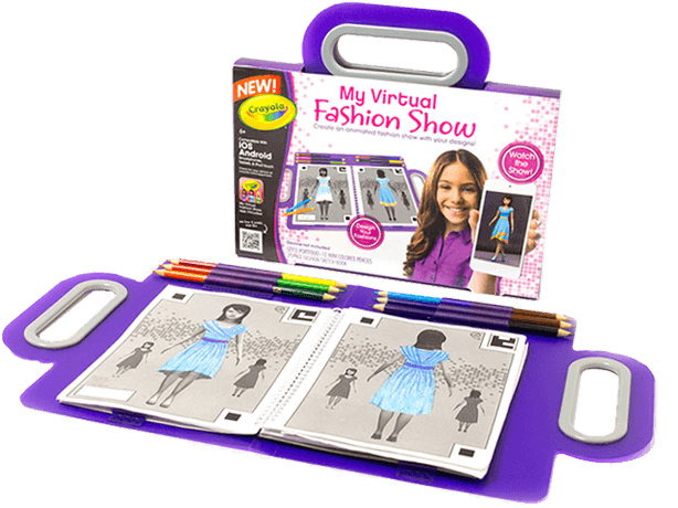 crayola virtual design pro fashion collection project runway holiday gifts 2014 images