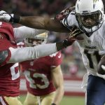 eddie royal san diego chargers beats down chris culliver san francisco 49ers 2014 nfl season images