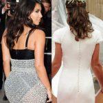 kim kardashian slammed by pippa middleton for rear exposure images 2014