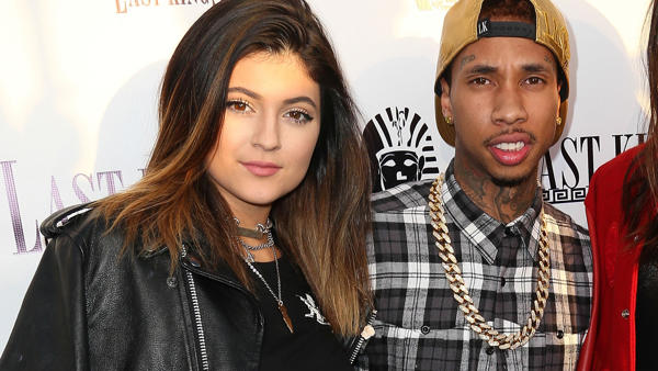 kylie jenner swears tyga rumors not true 2014